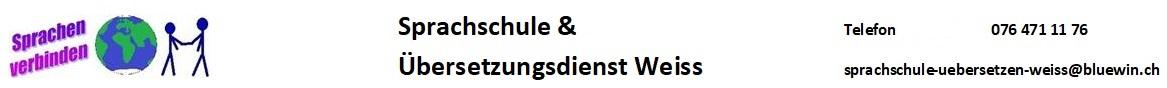 Sprachschule & Übersetzungsdienst Weiss